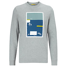Buy Kin by John Lewis Graphic Print Sweatshirt, Grey Online at johnlewis.com