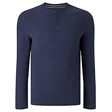 Buy John Lewis Organic Cotton Pique Long Sleeve Grandad Top Online at johnlewis.com