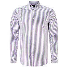 Buy John Lewis Bengal Stripe Oxford Shirt, Purple Online at johnlewis.com