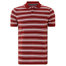 Buy John Lewis Fade Out Organic Cotton Pique Polo Shirt Online at johnlewis.com