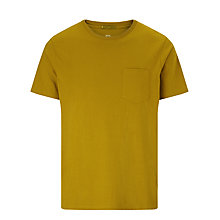 Buy Kin by John Lewis Pocket Tee, Amber Green Online at johnlewis.com