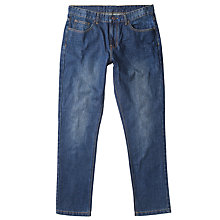 Buy John Lewis Maida Vale Laundered Denim Slim Jeans, Dark Wash Online at johnlewis.com