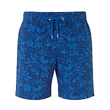 Buy John Lewis Passion Flower Print Swim Shorts Online at johnlewis.com