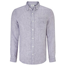 Buy John Lewis Fine Stripe Linen Shirt Online at johnlewis.com