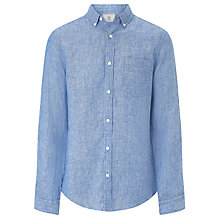 Buy John Lewis Laundered Linen Shirt Online at johnlewis.com