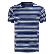 Buy John Lewis Fade Out Stripe Organic Cotton T-Shirt Online at johnlewis.com