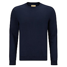 Buy JOHN LEWIS & Co. Cotton Sweatshirt, Navy Online at johnlewis.com