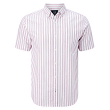 Buy John Lewis Stripe Short Sleeve Oxford Shirt Online at johnlewis.com