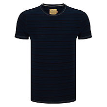Buy JOHN LEWIS & Co. Breton Stripe T-Shirt, Midnight Online at johnlewis.com