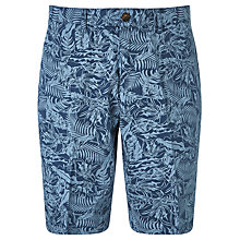 Buy John Lewis Passion Fruit Print Shorts, Blue Online at johnlewis.com