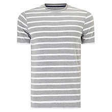 Buy John Lewis Organic Cotton Breton Stripe T-Shirt Online at johnlewis.com