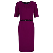 Buy Precis Petite Ponte Shift Dress, Mid Pink Online at johnlewis.com