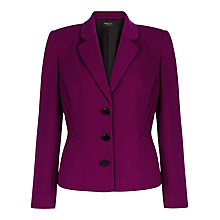 Buy Precis Petite Ponte Jacket, Dark Pink Online at johnlewis.com