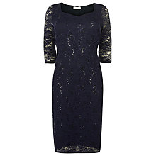 Buy Windsmoor Lace Sequin Dress, Navy Online at johnlewis.com