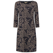 Buy White Stuff Pitch It Up Jersey Dress, Ink Wash Online at johnlewis.com