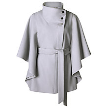 Buy Kaliko Short Cape, Light Grey Online at johnlewis.com