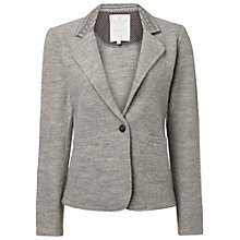 Buy White Stuff Timepiece Wool Blazer, Feather Grey Online at johnlewis.com