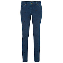 Buy White Stuff Spot to Dot Skinny Jeans, Denim Blue Online at johnlewis.com