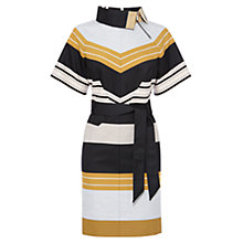 Buy Karen Millen Belted Dress, Multi Online at johnlewis.com