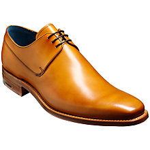 Buy Barker Kurt Calf Leather Derby Shoes, Cedar Online at johnlewis.com