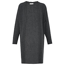 Buy Whistles Pocket Cardigan, Grey Online at johnlewis.com