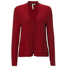 Buy White Stuff Lovely Loom Cardigan, Chilli Red Online at johnlewis.com