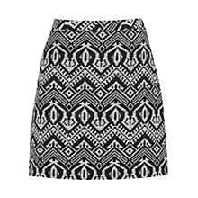 Buy Oasis Aztec Marley Mini Skirt, Multi Online at johnlewis.com