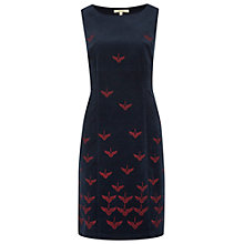 Buy White Stuff Birds Of Flights Dress, Pottery Blue Online at johnlewis.com