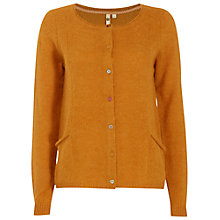 Buy White Stuff Fleecy Cardigan, Basket Copper Online at johnlewis.com