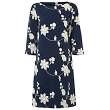 Buy White Stuff Midnight Dream Dress, Pottery Blue Online at johnlewis.com