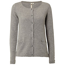 Buy White Stuff Pillow Cardigan, Japan Grey Online at johnlewis.com