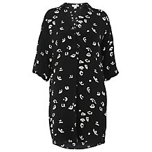 Buy Whistles Lola Abstract Dress, Black/Multi Online at johnlewis.com