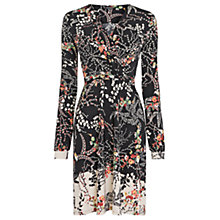 Buy Warehouse Pretty 70s Wrap Dress, Multi Online at johnlewis.com