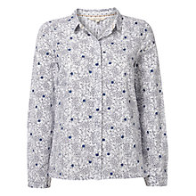 Buy White Stuff Simply Spot Shirt, White Online at johnlewis.com