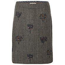 Buy White Stuff Sewn Tweedy Skirt, Natural Online at johnlewis.com