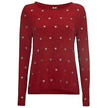 Buy White Stuff Winter Hymn Jumper, Chilli Red Online at johnlewis.com
