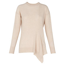 Buy Whistles Asymmetric Jumper, Oatmeal Online at johnlewis.com
