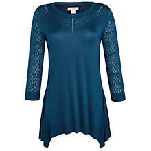 Buy Celuu Primrose Hanky Hem Tunic Jumper Online at johnlewis.com