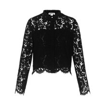 Buy Whistles Chay Lace Shirt Online at johnlewis.com