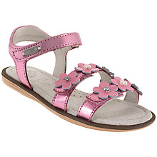 Buy Lelli Kelly Children's Alia Rip-Tape Leather Sandals Online at johnlewis.com