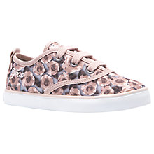 Buy Geox Children's Ciak Lace-Up Shoes, Rose Online at johnlewis.com