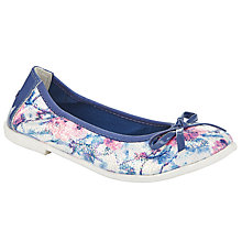 Buy Lelli Kelly Children's Karol Ballet Pumps, Light Blue Online at johnlewis.com