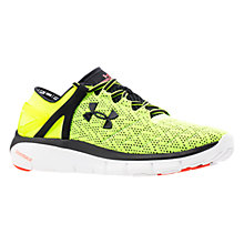 Buy Under Armour SpeedForm Fortis Men's Running Shoes, Yellow Online at johnlewis.com