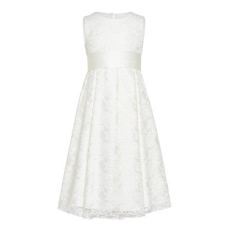 Buy john lewis girls 39 charlotte lace bridesmaid dress for John lewis wedding dresses