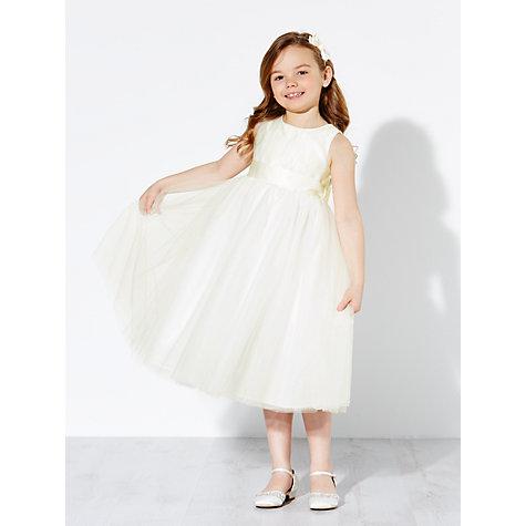 Buy John Lewis Girls Holly Bridesmaid Dress Ivory John