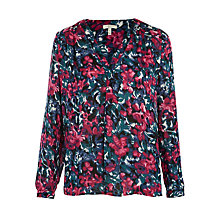 Buy Joie Anthia Floral Blouse, Jade/Freesia Online at johnlewis.com