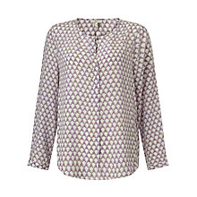 Buy Joie Ramona Silk Blouse, Porcelain Online at johnlewis.com