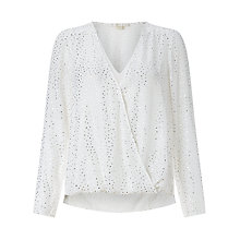 Buy Cooper & Ella Alyssa Polka Dot Blouse Online at johnlewis.com