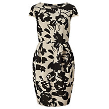 Buy Weekend MaxMara Sabrina Dress, Black/Ecru Online at johnlewis.com