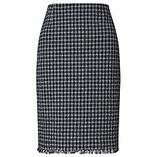Buy Weekend by MaxMara Banda Check Skirt, Navy Online at johnlewis.com